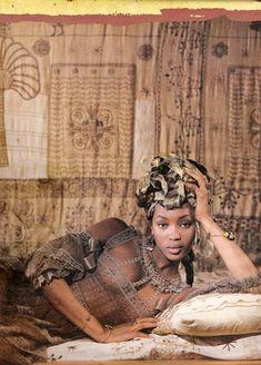 Naomi Campbell, photo by Karl Lagerfeld for Chloé, 1994 Beautiful Dark Skinned Women, Beautiful Black Girl, Black Girl Art, Black Women Art, Black Girl Magic, Most Beautiful Women, Naomi Campbell, African Beauty, African Women