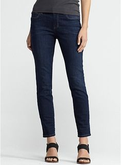 Skinny Ankle Jean in Organic Soft Stretch Denim:  Lightweight and comfy, the only jeans you'll need!