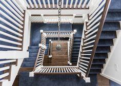 Indigo Stair Runner. Alisberg Parker Architects.
