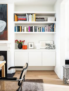 Heritage Bones Meets Modern Design In This Paddington Terrace (The Design Files) Scandinavian Style, Cozy Reading Corners, House Fan, Floor Layout, Front Rooms, The Design Files, Built In Storage, Small Storage, Residential Architecture