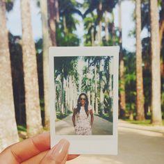 Instagram @itsrenataferraz  Instax mini  Jardim Botanico Rio de Janeiro