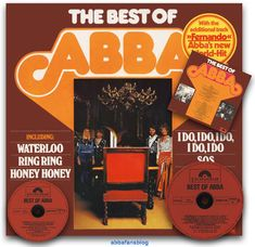 Welcome to my ABBA blog which I will use to post details of my ABBA collection as well as ABBA news and reviews.