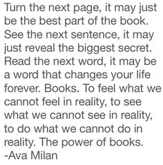 Turn the next page.