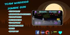 Download Team Warrior - Zombie Gun -Multi worlds & characters –Eclipse project with ADMOB Nulled