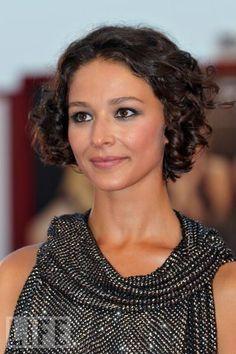 Nicole Grimaudo- short curly hair