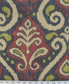 Blue Ikat Fabric