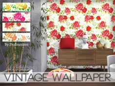 Sims 4 CC's - The Best: Wallpaper by Pralinesims