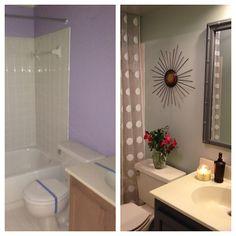 $80 bathroom makeover...