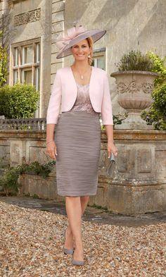 Condici Mother Of The Bride Outfit 70879 Rose Quartz Peppercorn -