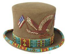 Beaded Top Hat