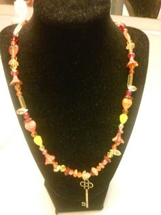Czech and Lampwork beads.