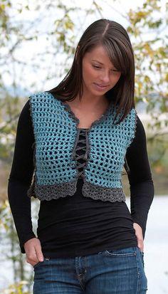 Ravelry: Easy Street Vest (W372) pattern by Kristen Stoltzfus - free pattern
