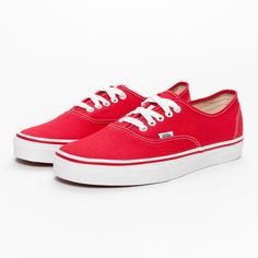 Vans Authentic Sneakers Red #Vans