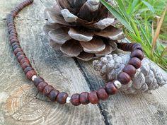Wood necklace by Unics on Etsy, $19.00