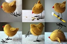 5. #Easter Chicks - 12 #Fantastic DIY Projects for Easter ... → #Lifestyle #Craft