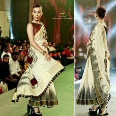Ikat Kerala Saree with Leather  100 years of British Indian coins , Reviving the AgeOld Weave from the House of Braid de'® at the Kerala Fashion League Abhil Dev 2k18  Official Photographer Braid de'® - An Abi Yesodaran Group  Show Director- Faheem Show Choreographer- Sandeep Gowda. International Model - Raya Jahan  #Keralasaree #Kerala #Saree #Leather #Ikat #britishIndiancoins #British #India #Indian #Coins #Elephant #Indiagate #maggomwork #paarvatiSaraswathy #Braidde' #Designers