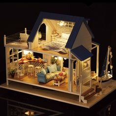Image result for dollhouse miniature kit
