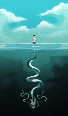 Haku, Spirited Away