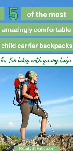 If you want to do some hiking with your young kids, a child carrier hiking backpack is a must! Check out this list of the most comfortable child carrier backpacks to find the one that will suit your hiking needs. You can still enjoy hiking when you have young children when you use one of these best child carrier hiking backpacks. Find your favorite child carrier backpack today! hike|hiking|hiker|best child carrier hiking backpack Best Hiking Gear, Best Hiking Boots, Hiking Tips, Baby Hiking Backpack, Best Hiking Backpacks, Best Sleeping Bag, Hiking With Kids, Adventure Activities, Family Adventure