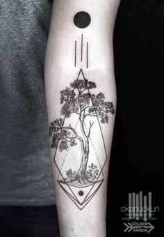 Sacred geometry Tattoo Ideas (5)