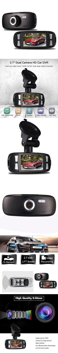 Original 2.7 inch Car Video Recorder Car DVR Camera with 96220  Wdr Technology 140 Degree Dash Cam Night Vision G-senor DVRS New