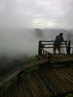 A misty morning, rainy season, Ban Jabo, Mae Hong Son Rainy Season, Outdoor Furniture, Outdoor Decor, Trips, Seasons, Park, Travel, Viajes, Seasons Of The Year