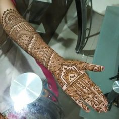 17 Best Rajasthani Mehndi Designs for Hands - Mehndi YoYo Rajasthani Mehndi Designs, Dulhan Mehndi Designs, Hand Mehndi, Mehndi Designs For Hands, Henna Patterns, Henna Art, Design Inspiration, Tattoos, Layout Inspiration