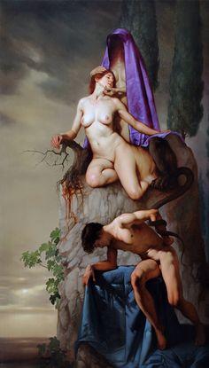 Roberto Ferri | The Death of the Sphinx