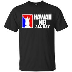 Hawaii Nei Aloha Custom Ultra Cotton T-Shirt