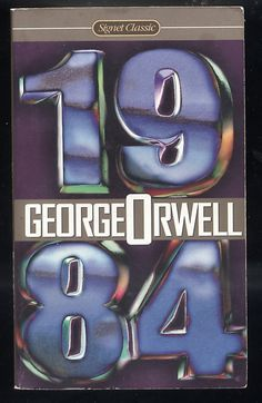 Signet Classics by George Orwell 1984 PB Must Read Book