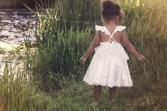 Lace dress baby girl dress flower girl dress by LGPBoutiqueDesign