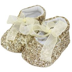 a44925ac5f6a1 £14.99 Sparkly gold baby shoes available at Children's Outlet Gold Baby  Shoes, Baby Girl