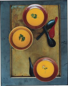 Pumpkin, Corn, and Lemongrass Soup