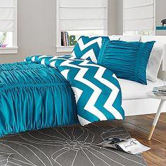12 Best Beautiful Interiors Blue Brown Images Comforter
