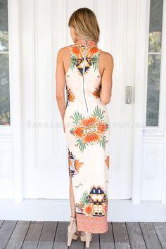 Sacromonte Maxi Dress ▶ ▷▶ Shop It Now ❤ Xenia Boutique xx