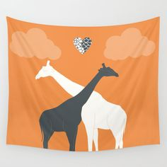 Wall Tapestry Animal Giraffe Personalized Color Hanging Dorm - Small Medium Large - Tapestries Decor Home Unique Art - Gift Animal Bohemian Featuring vivid colors and crisp lines, these highly unique and versatile tapestries are durable enough for both indoor and outdoor use 1) Please choose