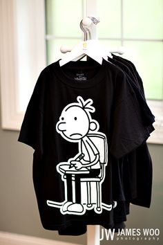 Diary of a Wimpy Kid shirts for everyone