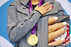 The Fabulous Nails Of Women's Olympic Swimming
