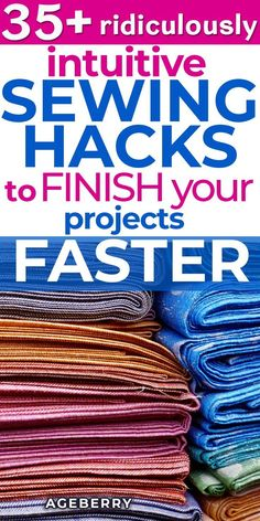 Newest Cost-Free sewing hacks Tips Looking for some sewing hacks? Here are 35 sewing tips to help you sew faster. This tutorial inclu Easy Sewing Projects, Sewing Projects For Beginners, Sewing Hacks, Sewing Tutorials, Sewing Crafts, Dress Tutorials, Sewing Ideas, Sewing Patterns Free, Free Sewing