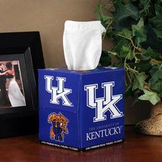 Kentucky Wildcats Box of Sports Tissues
