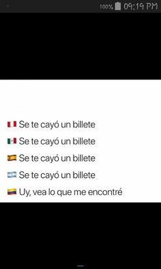 Funny Spanish Memes, Spanish Humor, Love My Family, Haha, Stress, Bolivia, Sayings, Country, Steven Universe