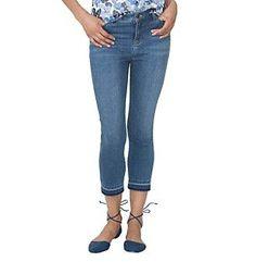 Chaps® Stretch-Denim Capri Pants