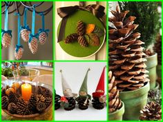 Christmas Decoration Ideas - Recycling pine cones! https://youtu.be/oWg1O__9pYY  #roomdecor #decor #diy #ideas  #decoration  #crafts #homemade #handmade #diygifts #gift #Xmas #Christmas #Decoration #ChristmasDecoration #pinecones #ChristmasTree #diyIdeas #newyear #Christmas2017