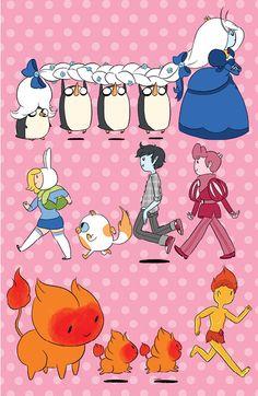 Adventure Time - Fionna and Cake cover by Natasha Allegri