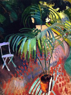 ilovetocollectart: Raoul Dufy - The Little Palm Tree, 1905 i cant help reblogging this every time i see it :)