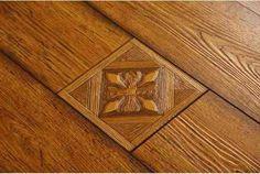 carved wood laminated floor