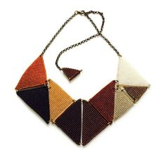 TRIGONISTA in Browns by ByKateMoran on Etsy