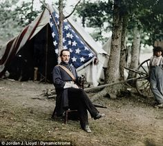 Amazing Civil War photographs created by colorist bring the era's heroes and characters to life in full color for the first time | Mail Online