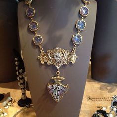 Repourposed Vintage Women's Jewelry via: LuLu's at the Belle Kay - Price: $375.00