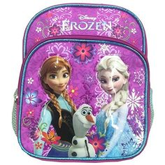 Disney Frozen 10 Mini Backpack with Anna Olaf and Elsa >>> You can find out more details at the link of the image. Best Kids Backpacks, Girl Backpacks, Toddler Backpack, Mini Backpack, Frozen Queen, Queen Elsa, Frozen Toys, Olaf, Disney Frozen